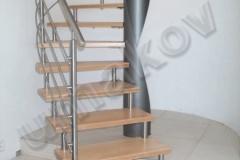 09 Nerezové zábradlie schodisko