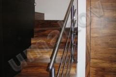 Nerezové zábradlie na schody