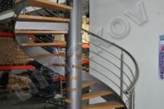 54 Zábradlie pre schody