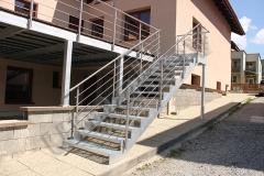 86 nerezove zabradlie schodove s bocnym kotvenim