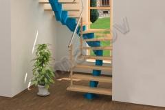 02 Segmentové schodisko drevené stupnice