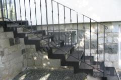 03 Kované schodisko