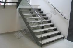 03 schody sklenené zábradlie