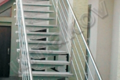 09 Nerezové exteriérové schody