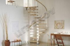 12 Špirálové schody