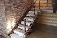 48 Segmentové priame schody