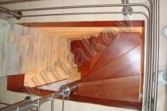 50 Točité nerezové schodisko