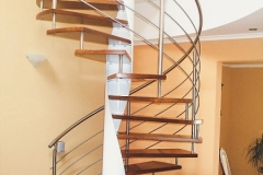 Vretenové schodisko