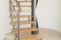 Vretenové točité schodisko
